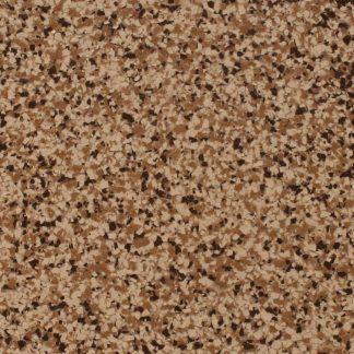 This broadcast flake toppings system by Bomanite  in finish TP-BF-010111-02 is an ideal color choice and when applied over prepared concrete, creates a seamless surface in your garage or basement.