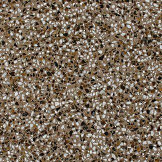 This decorative concrete by Bomanite in finish EX-RV-080211-09 is a revealed exposed aggregate with beautiful amber tones and offers natural non-skid properties and abrasion resistant aggregates.