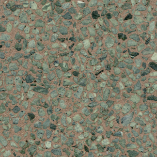 Bomanite revealed exposed aggregate in finish EX-RV-081014-12 incorporates hard durable aggregates in the binder, resulting in a robust concrete that has an excellent life cycle with reduced maintenance requirements.