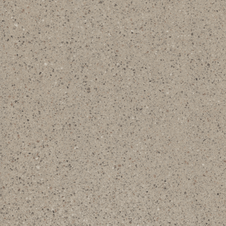 Renaissance custom polished concrete by Bomanite is integrally colored concrete that provides a rich, luxurious finish and is available in many colors, including this elegant neutral  coquina finish.