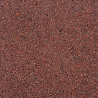 Add topical color in a vibrant tone with Bomanite roasted pepper Patene Teres custom polished concrete.