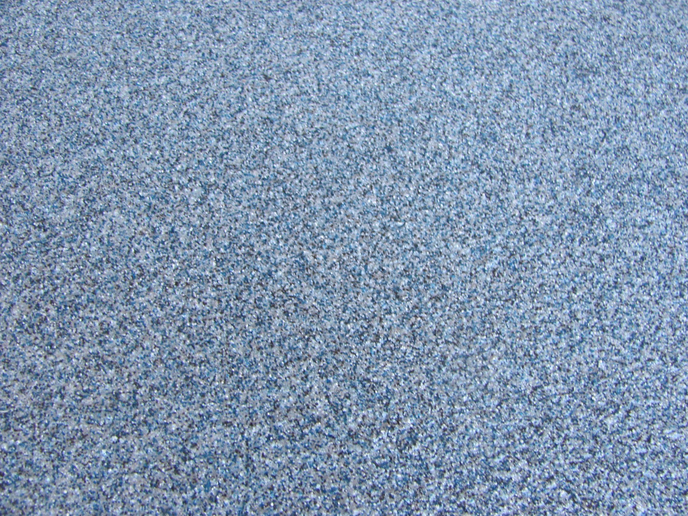 Bomanite Broadcast Aggregate - Dog Kennel Floor Close Up