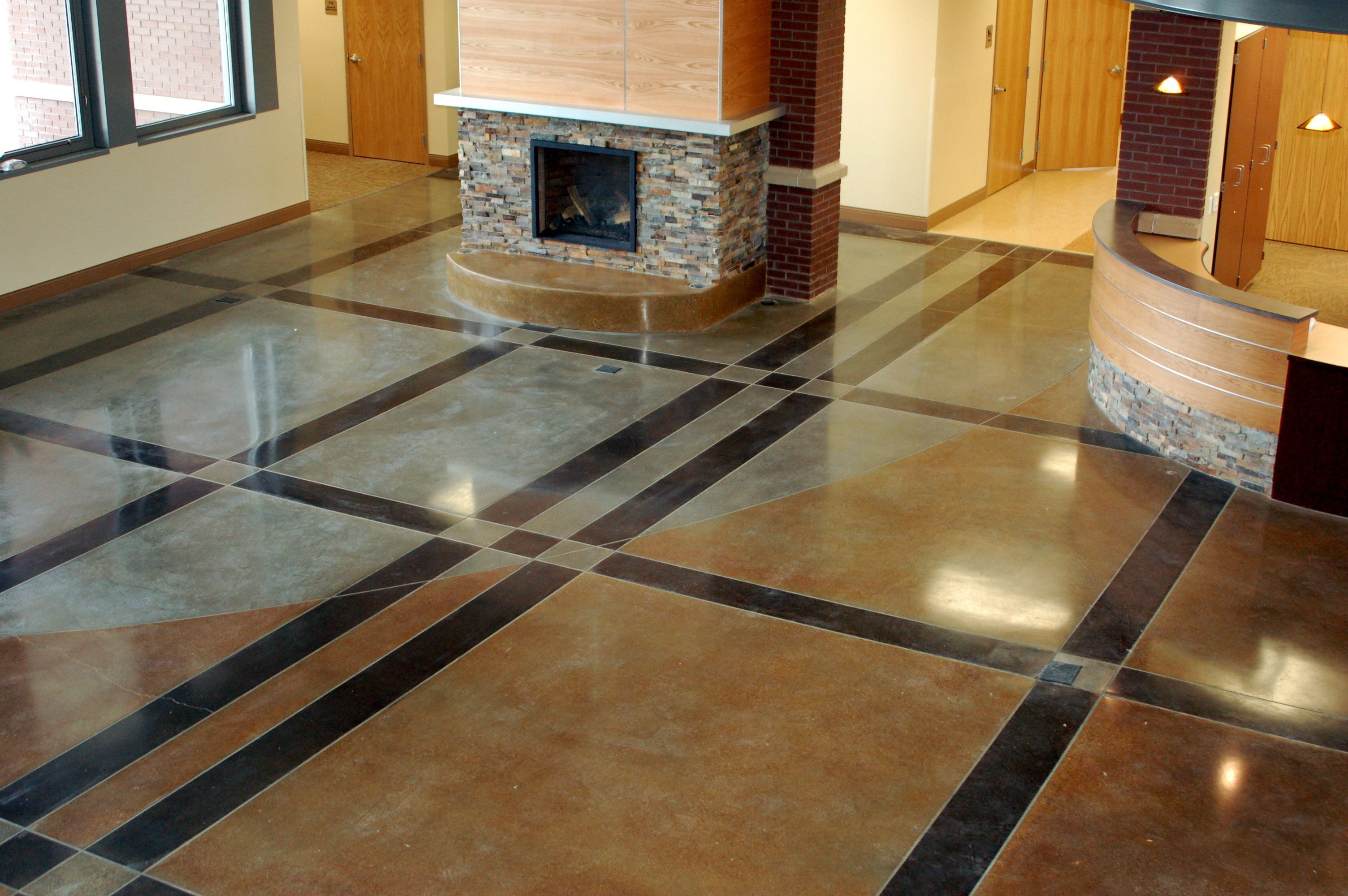 ozark design best concrete floor decorative flooring sealer floors custom of lake cement