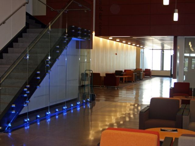 Law Enforcement Education Center - Bomanite Modena TG Polished Interior Concrete Floor