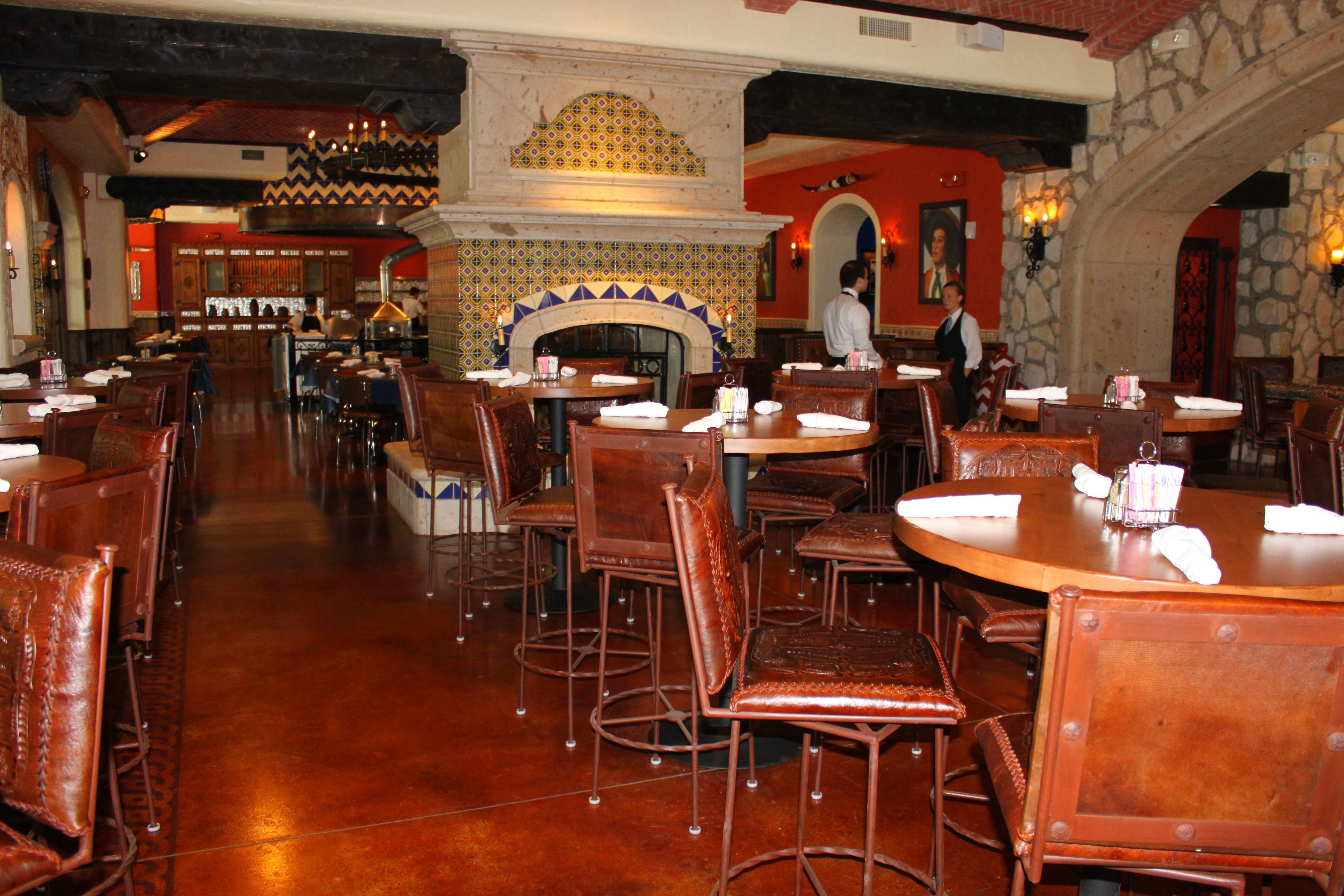 Uncle Julio's Restaurant - Austin Texas Bomanite Chemical Stain