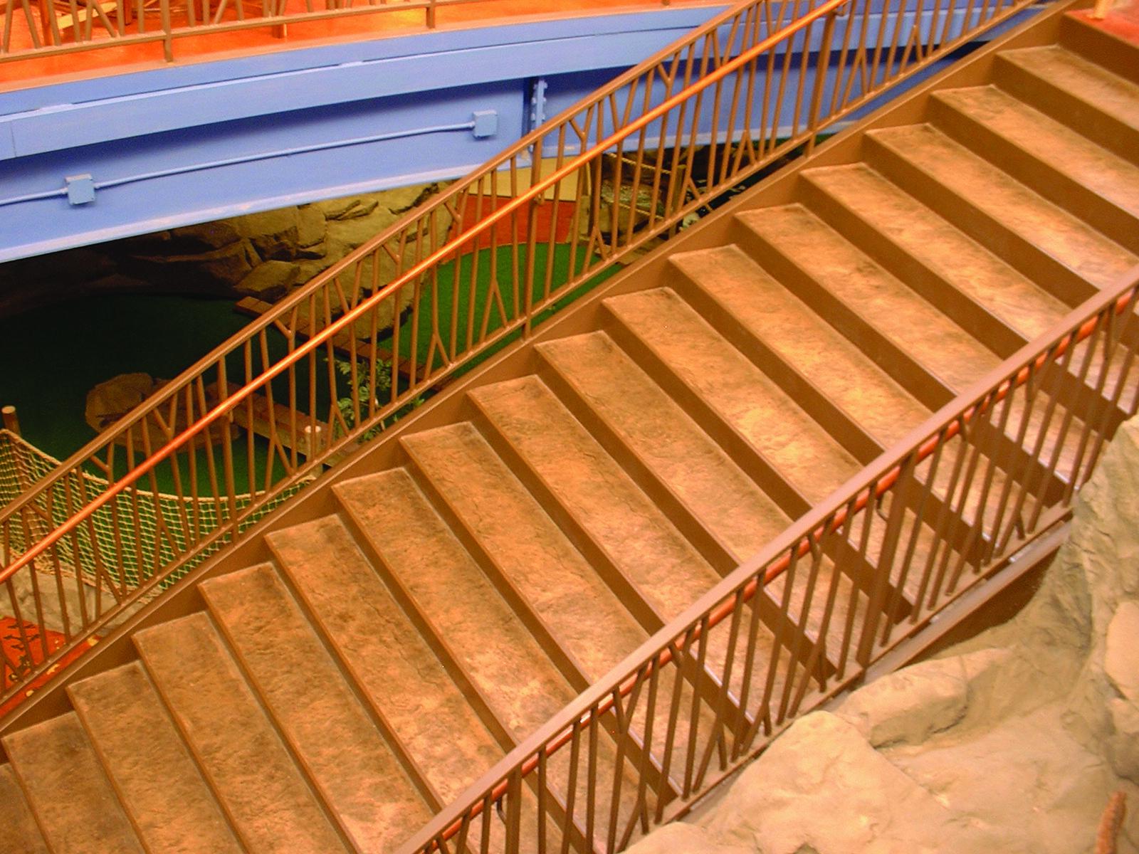Kakahari Resort - Sandusky Ohio - Bomanite Thin-Set Topping System