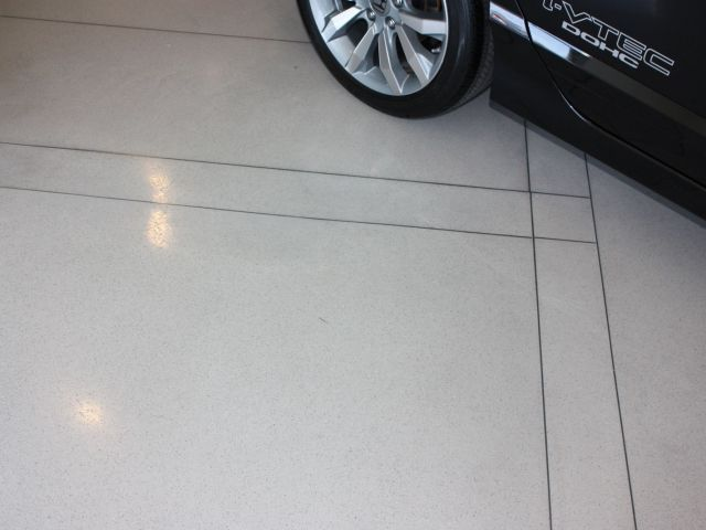 Markley Honda - Bomanite Modena Custom Polished Concrete Floor