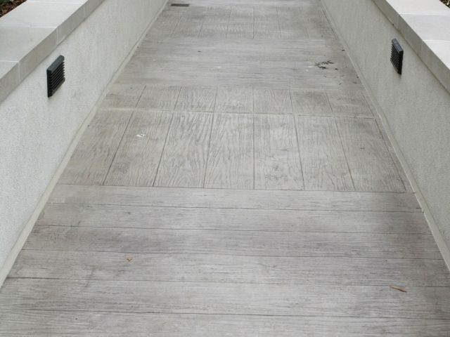 Portola Plaza Hotel - Monterey, CA - Bomanite Thin-Set with Boardwalk Custom Pattern