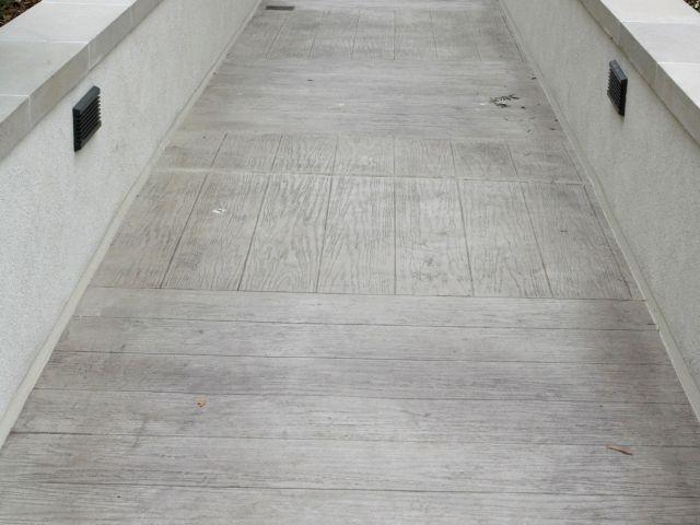 Portola Plaza Hotel - Monterey, CA - Bomanite Thin-Set with Boardwalk Custom Pattern