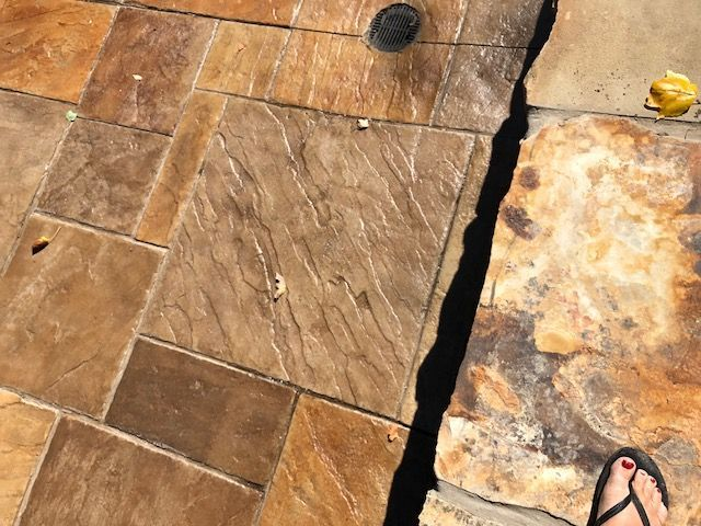 Private Residence Bronze Award Winner 2017 using Bomanite Imprint Systems with Bomacron Patterns.