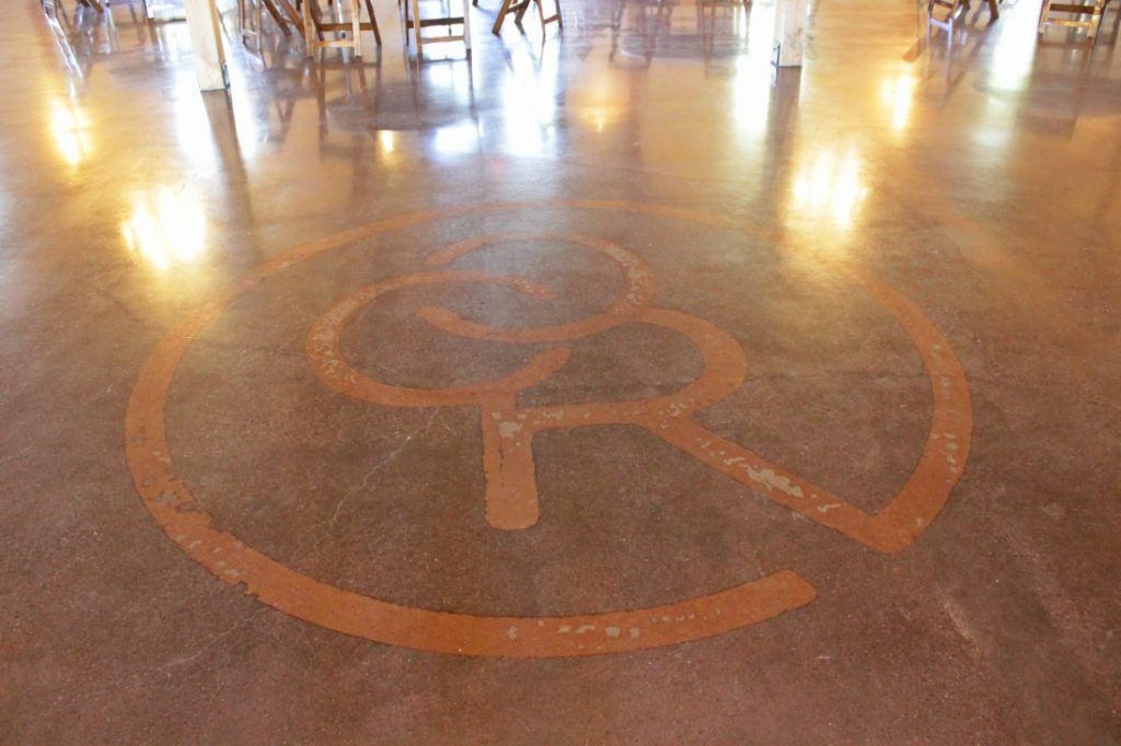 The Bomanite VitraFlor custom polishing system was used to finish these elegant, yet rustic concrete floors at the Chapel Creek Ranch, offering a beautiful and stylish polished finish that is functional and durable.