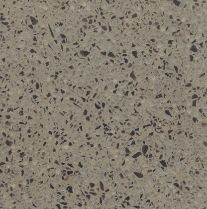Bomanite Modena Monolithic in finish CP-MDM-010416-05 with intriguing purpla and white aggregates that draw in the eye and when polished to your gloss level specified will make your flooring unforgettable.