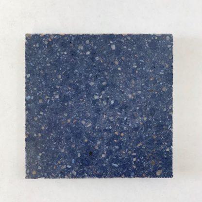 Bomanite Custom Polishing System using Blueberry Patene Teres in a 3x3 sample.