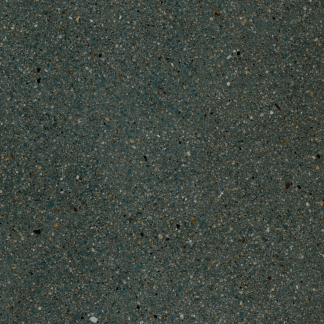 Bomanite Toppings Chemical Stain in Caribbean Blue on Un-Colored Ground Concrete.