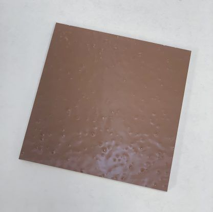 Bomanite Toppings Systems using Autumn Brown Florspartic 100 in a 3x3 sample.